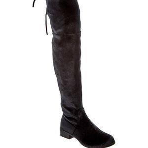 Sueded Over the Knee boots